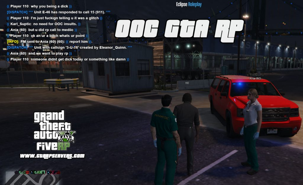 What does OOC mean in GTA RP?
